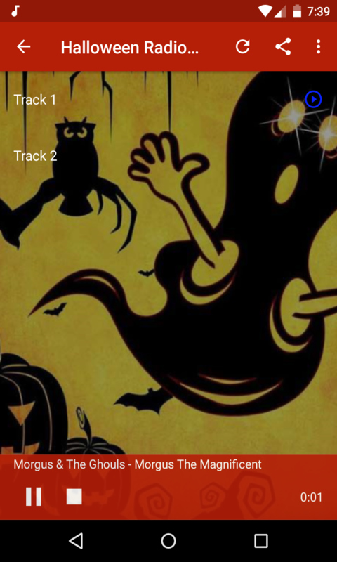 Spooky Halloween Radio Free free android app - Android Freeware