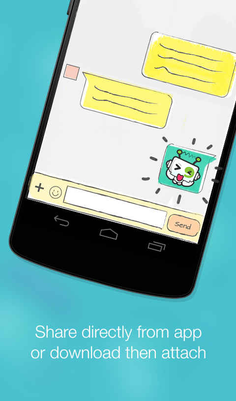 Download Stickers And Messages By Mobile9 Free For Your Android Phone