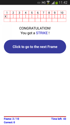 StrikeQuiz screenshot 1