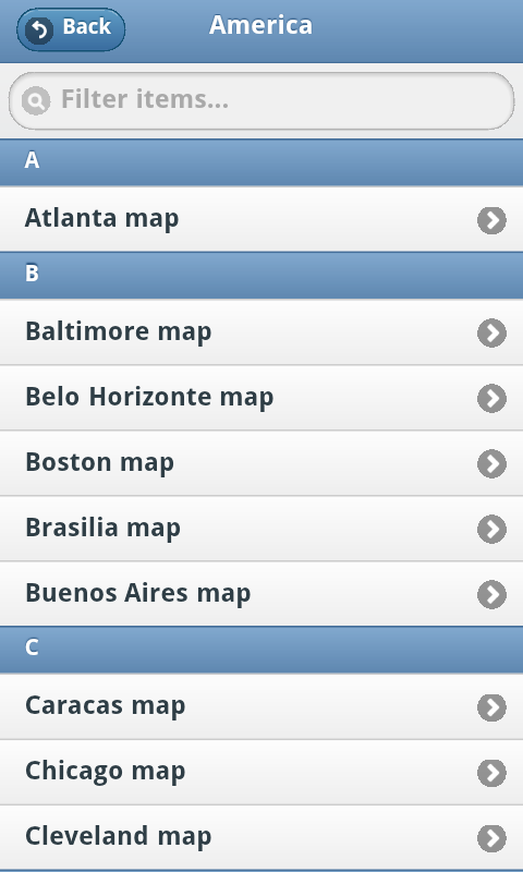 Subway Maps screenshot 2