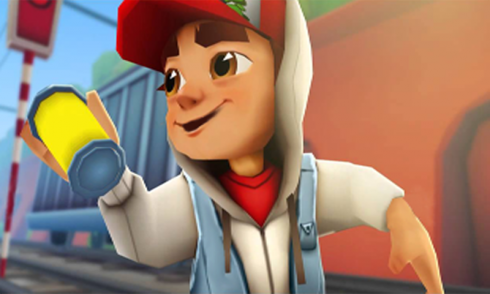 while playing this deluxe game keywords summer surfers subway surfers