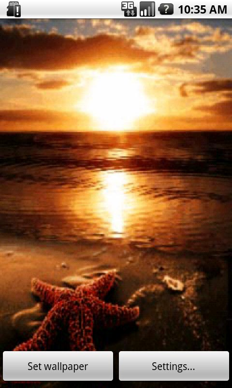 Download Summer Sunset Live Wallpaper APK Free For Your Android Phone