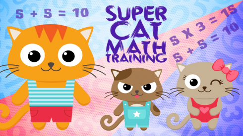 Super Cat Math Training screenshot 1