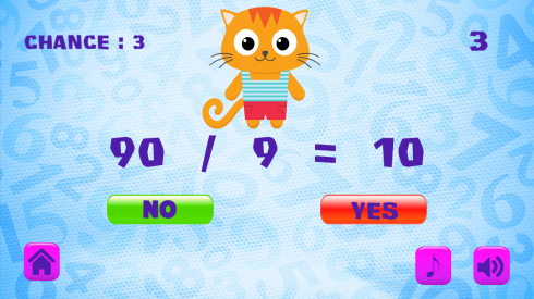 Super Cat Math Training screenshot 2