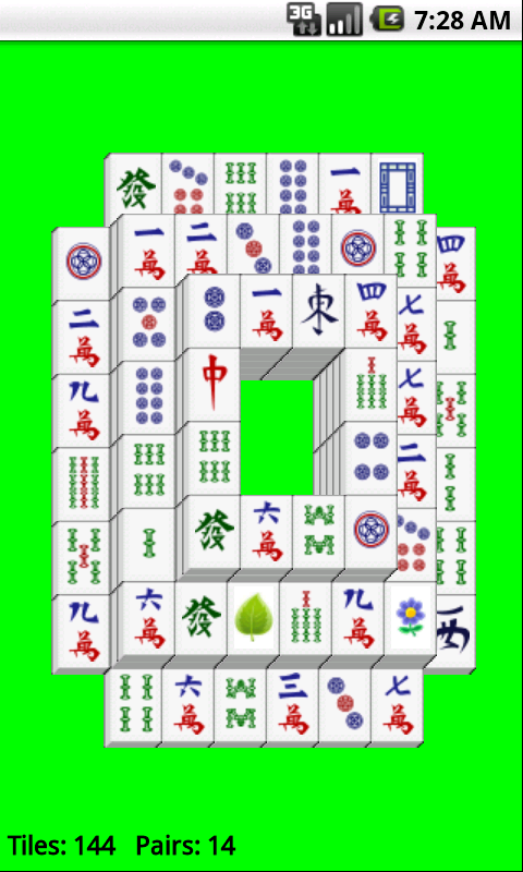Super Mahjong Solitaire Free screenshot 1