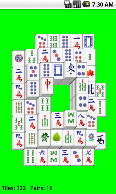 Super Mahjong Solitaire Free screenshot 2