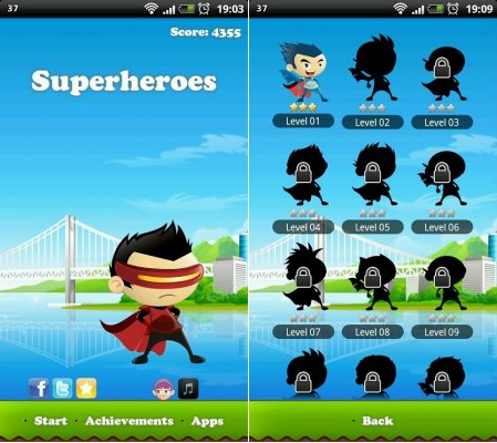 Superheroes screenshot 1