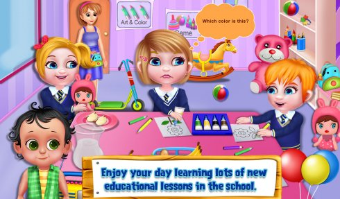 Sweet Baby Emma Preschool screenshot 1