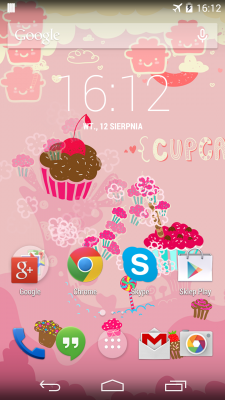 Sweet Cupcake LiveWallpaper screenshot 2