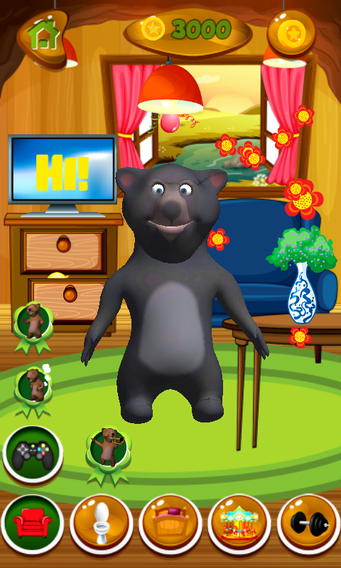 Talking Bear Free Android App Android Freeware