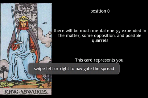TarotBot screenshot 1