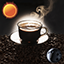 Tasty Coffee Clock Widget