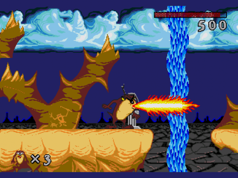 Taz-Mania screenshot 1