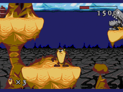 Taz-Mania screenshot 2