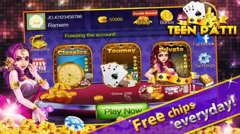 Teen Patti Gold Flush Poker screenshot 1
