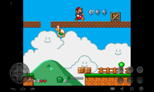 The Adventures of Super Mario screenshot 1