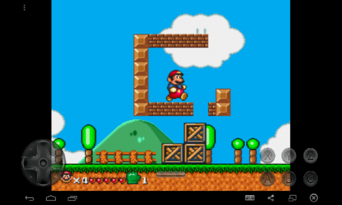 The Adventures of Super Mario screenshot 2
