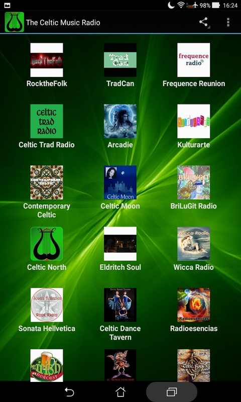The Celtic Music Radio screenshot 1