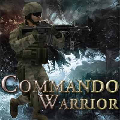 Image of  The Commando Warrior Shooting