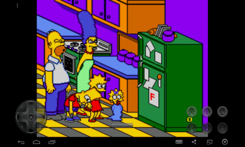 The Simpsons Bart is Nightmare screenshot 2