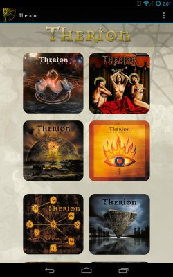 Therion Fan App screenshot 1