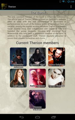 Therion Fan App screenshot 2
