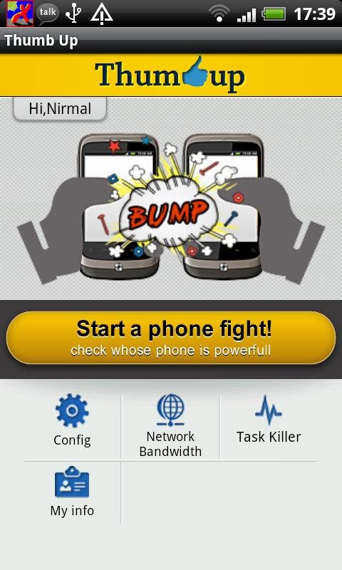 Bump Fight - Phone Fight screenshot 1