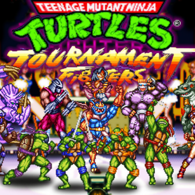 TMNT - Tournament Fighters SEGA