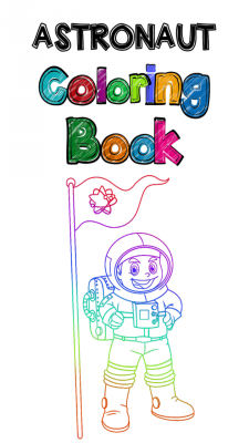 Top Astronaut Coloring Book screenshot 1