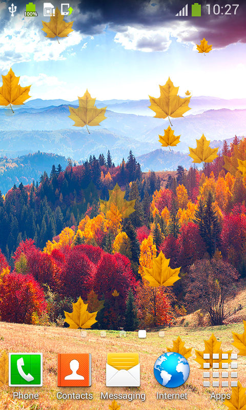 top autumn live wallpapers free apk android app android