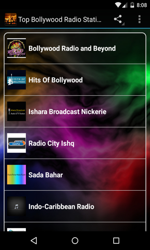 Top Bollywood Radio Stations Free screenshot 1