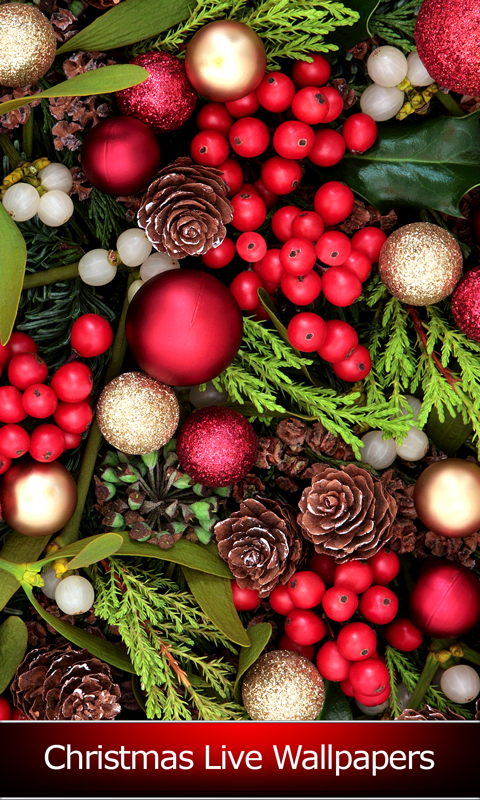 top christmas live wallpapers free app download android