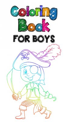 Top Coloring Book For Boys screenshot 1