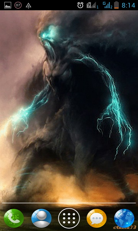 Tornado Demons Live Wallpaper Android App - Free APK by ...