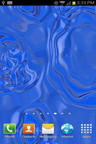 Download Touch The Live Water Wallpaper