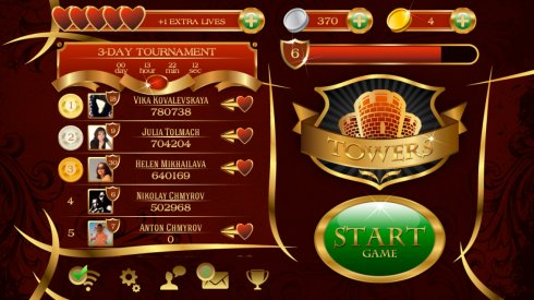 Towers Solitaire screenshot 1