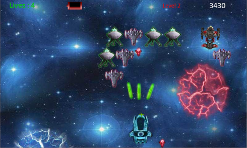 Toy Invaders screenshot 2