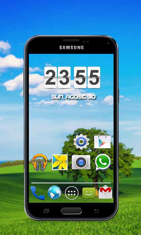 Transparent 3D Theme for Android - Download