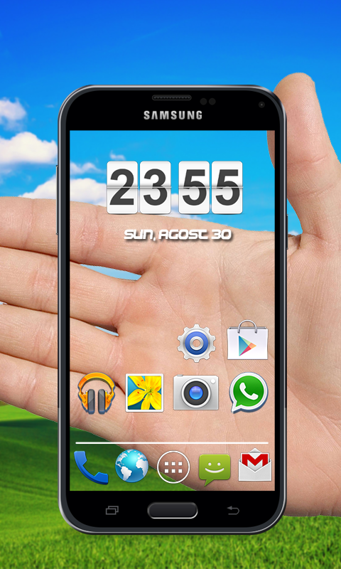 transparent 3d theme.3