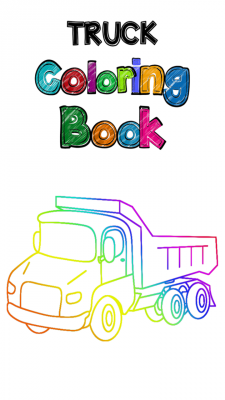 Truck Coloring Book screenshot 1