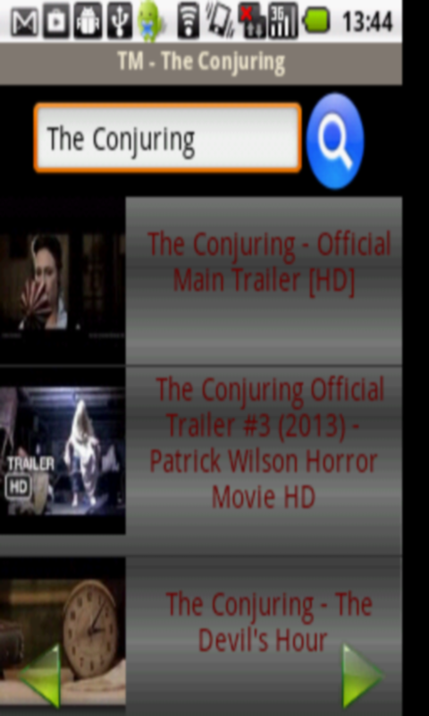 Tube Movies - The Conjuring screenshot 2
