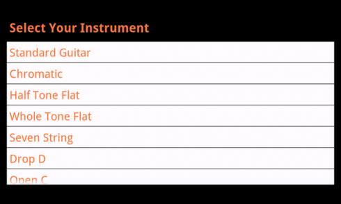 Tun-d Free Guitar Tuner screenshot 2