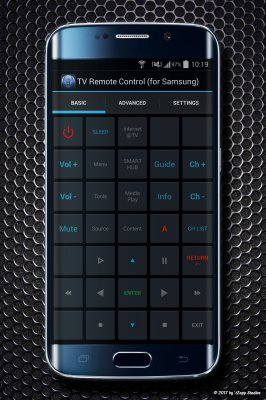 TV Remote Control for Samsung LCD, LED, QLED, 4K UHD screenshot 2