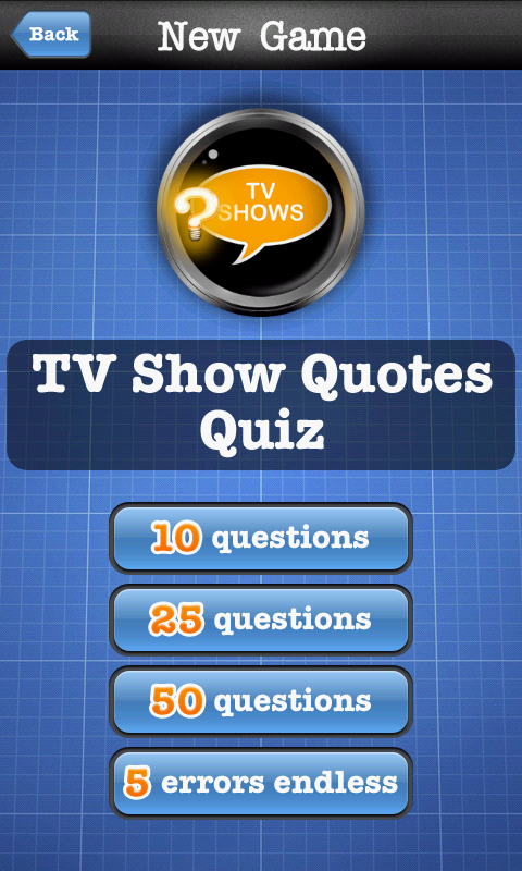 Quotes Quiz New Tv Show Quotes Quiz Free Android App  Android Freeware