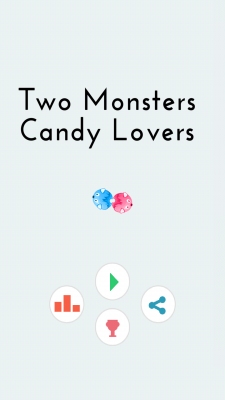 Two Monsters Candy Lovers screenshot 1