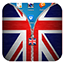 Download UK Flag Zipper Lock Screen for Android phone