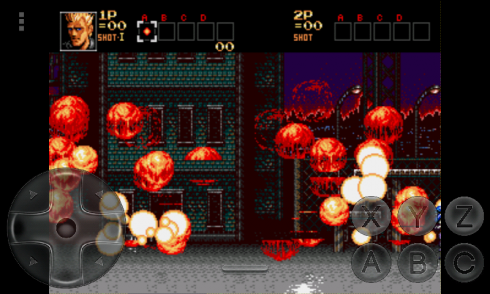 Ultimate Contra Hard Corps screenshot 2