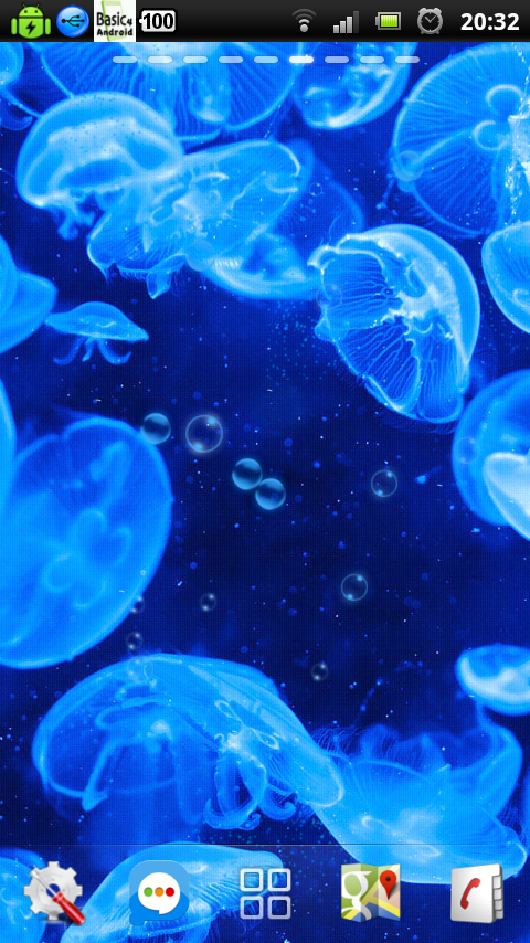 Download free underwater bubble jellyfish live wallpaper apps for