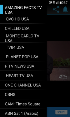 US TV channels screenshot 1