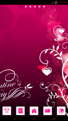 valentine go theme apk download for android